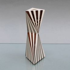 Leuchter 17 cm Silberdekor