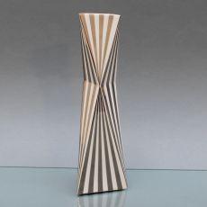 Vase 27 cm Silberdekor